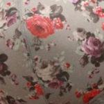 Цветы на сером